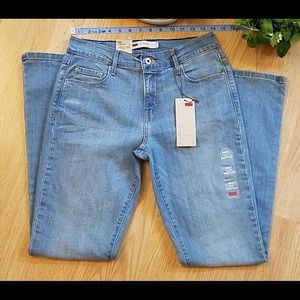 Levi's 515 Mid Rise Bootcut Jeans Size 4M/27 NWT